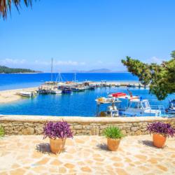 Boote auf Korfu