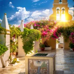 Kapelle auf Korfu Griechenland